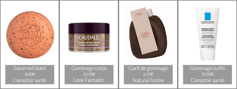 Astuce bronzage : les gommages